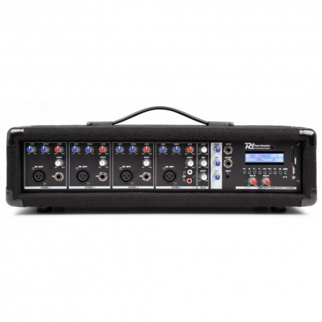 PDM-C405A Mixer activ 4x canale Bluetooth / USB Power Dynamics