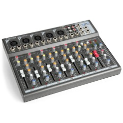 Mixer pasiv 4 canale USB Phantom power vonyx