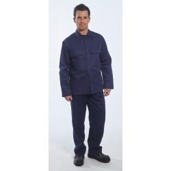 Costum protectie sudor din bumbac , termorezistent