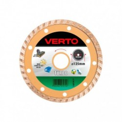 Disc diamantat segmentat Turbo, 125x22.2mm, 61H3P5, Verto