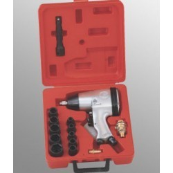 "SET PISTOL PNEUMATIC GENIUS 1/2"", MAX 312NM 16 PIESE"