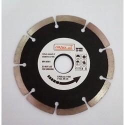 Disc diamantat segmentat 125x2.2x22.2 mm Guzun Gu6003
