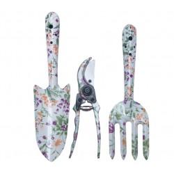 Mini Unelte Gradina Design Floral 3 Pcs Evotools 634150