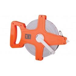 Ruleta cu varf si banda fibra sticla 50 mm Evotools 674451