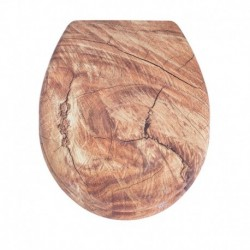 Capac pentru WC timber din duroplast AWD
