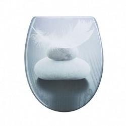 Capac pentru WC Harmony din duroplast AWD