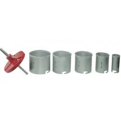 Freze Carbura Tungsten pt Beton D 33-53-67-73-83 mm Evotools 640044