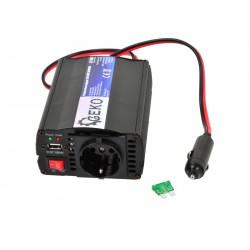 Convertor de tensiune 12V/230V 250/500W GEKO G17000