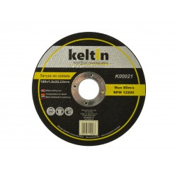 Disc taiere metal, 125x1,2mm Keltin, K00021