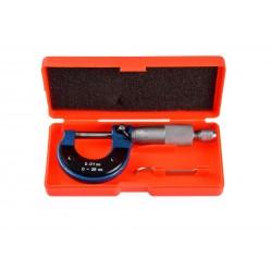 Micrometru electronic Geko, 0-25mm 0-01mm,, cutie depozitare G01486