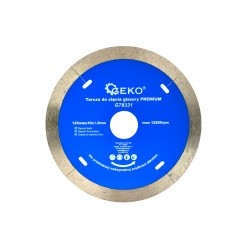 Disc diamantat pentru gresie si faianta G78331 125x1,2x22,2x10mm Geko