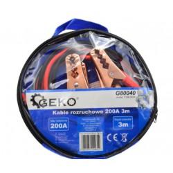 Cabluri de pornire 200A 3m, Geko G80040