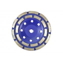 Disc diamantat dublu segmentat 125mm M14 Geko G00375