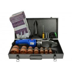 Set aparat de sudat tevi termoplastice Premium GEKO G81033
