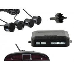 Senzori de parcare pe spate, Geko G02335, Negru