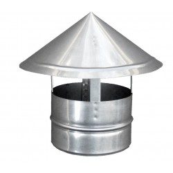 Capac Terminal Cos de Fum INOX D[mm]: 130 650975