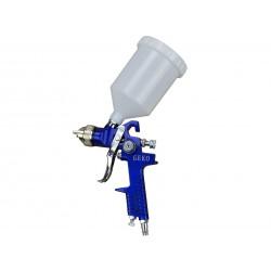 Pistol de vopsit cu aer comprimat Geko rezervor 600 ml 1.4mm cupa sus G01108
