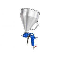 Pistol de vopsit profesional cu aer comprimat rezervorul pozitionat in sus 4500ml Geko G01145