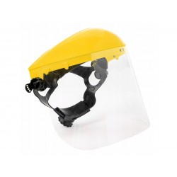 Masca de protectie cu acoperire PVC pentru coase, ferastraie, Geko G81065Z