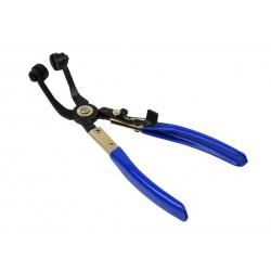 Cleste curbat pentru coliere elastice, Geko G01654