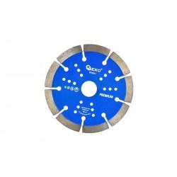 Disc segmentat pentru beton 125x10x22,2mm, GEKO Premium G78311
